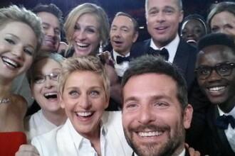 Moda selfie-urilor la Hollywood. Pozele care au devenit mai cunoscute decat celebra fotografie a lui Ellen DeGeneres