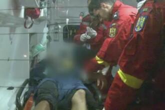 Un tanar a ajuns la spital in noaptea de Inviere dupa ce un copac a cazut peste el. A suferit multiple fracturi
