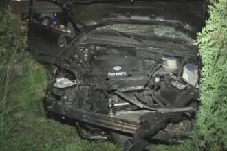 Accident desprins parca din scenele unui film intr-o localitate din Bistrita-Nasaud