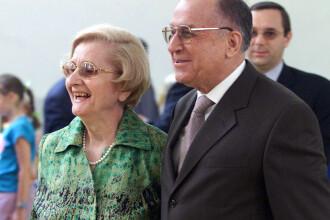 Sotia lui Ion Iliescu se simte bine. Nina Iliescu a fost operata marti la Spitalul Elias din Capitala