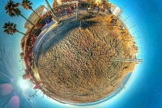 Imagini spectaculoase, la 360 de grade, surprinse de un fotograf cu telefonul mobil