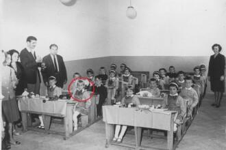Nadia Comaneci a intrat oficial pe Facebook cu o poza din prima ei zi de scoala