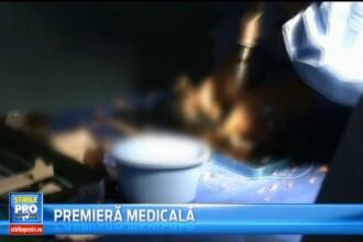 Premiera medicala inregistrata la Spitalul de Urgente din Targu Mures