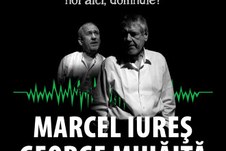 """Marcel Iures si George Mihaita, intr-un spectacol dupa """"Morometii"""" pe scena Nationalului clujean"""