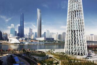 Chinezii vor avea cel mai rapid lift din lume. Urca la etajul 95 in 43 de secunde
