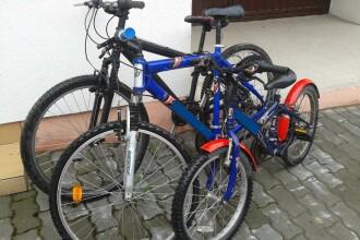 Dosar penal pentru un minor care a furat trei biciclete din curtea unor consateni