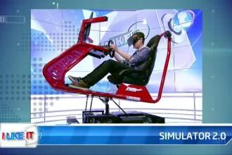 iLikeIT. Simulatorul auto romanesc a ajuns la versiunea 2.0. Senzatii tari, de Formula 1, direct din sufragerie