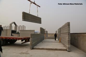 Chinezii pot construi o casa in 24 de ore. Metoda lor e unica in lume