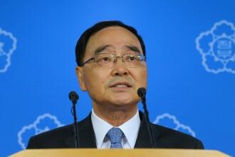 Premierul Coreei de Sud si-a dat demisia dupa dezastrul de pe feribot.