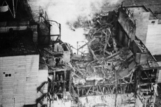 CATASTROFA de la Cernobil, dupa 28 de ani. Lava solidificata, rezultata in urma exploziei reactorului e inca letala