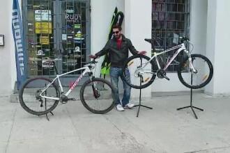 Trei biciclete care valorau 15.000 de euro au fost furate inaintea unui concurs de la Cluj. Politia crede ca au avut un pont