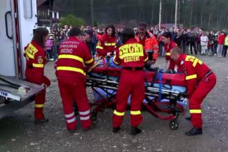 Moment cumplit pentru un sofer de ambulanta din Brasov. Barbatul a intervenit la un accident in care a fost implicat fiul sau