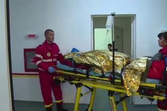 Aventura off road in Muntii Apuseni incheiata la spital. Un barbat s-a rasturnat cu masina intr-o prapastie de 20 de metri