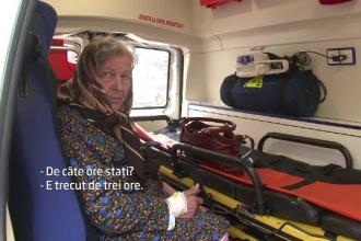 Prima reactie dupa ce cazul batranei din Botosani, tinuta 4 ore in ambulanta, a aparut la ProTv. Spitalul invoca protocolul