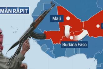 Armata americana si cea franceza ajuta autoritatile din Burkina Faso sa-l caute pe romanul rapit sambata