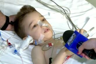 Operatia care i-ar putea salva viata. Un copil de 5 ani din Barlad a primit ficatul unui alt copil, aflat in moarte cerebrala