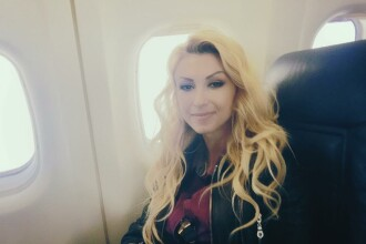Andreea Balan, incident neplacut in avion. Mesajul dur transmis de cantareata companiei TAROM: