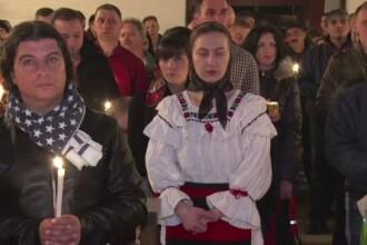 Din Italia si pana in Norvegia, romanii plecati de acasa au sarbatorit romaneste de Paste. Bisericile, pline cu credinciosi