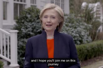 Hillary Clinton si-a anuntat candidatura la investitura prezidentiala in 2016: