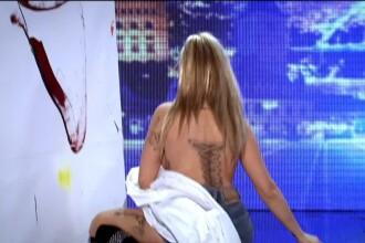 Teodoara a incantat-o pe Mihaela Radulescu cu numarul ei de la