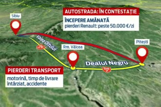7.000 de romani au iesit in strada sa-si ceara autostrada.