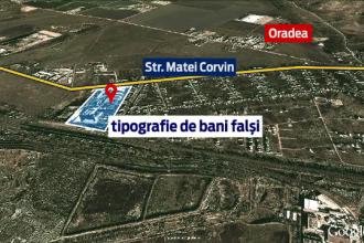 Perchezitii ale mascatilor in Timis si Arad. 60 de persoane sunt suspectate ca au pus in circulatie sute de mii de euro falsi
