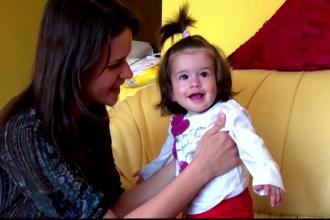 La doar 9 luni, micuta Evelina se lupta cu o boala cumplita pentru care nu exista leac. Cum o puteti ajuta sa traiasca