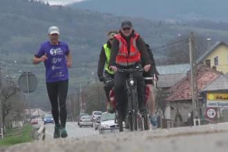 A alergat 215 de km in 24 de ore pentru a ajuta copii cu insuficienta renala. Tiberiu a facut pauze de doar 3 minute