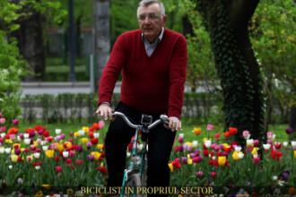 Biciclist in propriul sector. Andrei Chiliman vorbeste despre marea problema a parcului Herastrau: