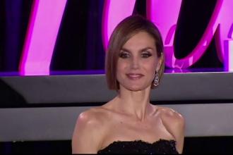 Regina Letizia a Spaniei, o aparitie spectaculoasa. Cu ce tunsoare indrazneata si rochie eleganta a atras toate privirile