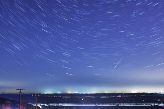 Fenomen spectaculos pe cer, chiar de Ziua Pamantului, vizibil si in Romania. Ce sunt Lyridele