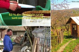 Romani cu superviteza la Internet si WC in fundul curtii. In 3 ani, toate satele noastre ar trebui sa iasa din Evul Mediu