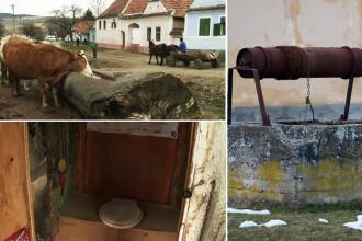 Oamenii pentru care vasul de toaleta este un bibelou inutil. Cat de simplu ar fi ca satele Romaniei sa aiba apa si canalizare