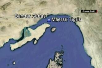 MAE: Patru romani se afla la bordul navei retinute de iranieni in Golful Persic. Ei sunt in siguranta