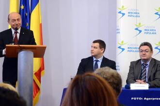 Traian Basescu s-a inscris in PMP:
