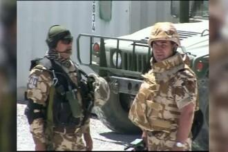 Patru militari romani, raniti in Afganistan in urma exploziei unei masini-capcana. In ce stare se afla