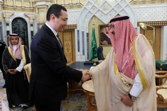 Victor Ponta si-a inceput turneul de o saptamana Golf. Despre ce a vorbit cu Regele Salman al Arabiei Saudite