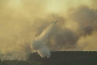 Pompierii ucraineni continua lupta cu incendiul de la Cernobil. Comitet de urgenta la Ministerul Mediului in Romania