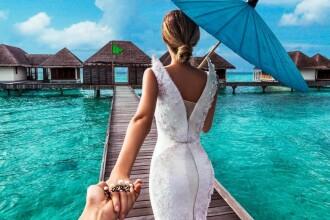 Cuplul care s-a fotografiat in cele mai frumoase locuri din lume a dezvaluit secretul din spatele imaginilor perfecte