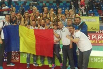 CSM Bucuresti a castigat Cupa Challenge. Este primul trofeu european din istoria voleiului romanesc feminin