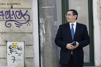 Reactia lui Ponta, dupa anuntul ca ii va fi reverificata teza de doctorat.