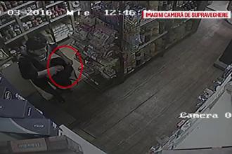 Strategia pusa la cale de trei barbati din Brasov, pentru a fura 100 de lei si cateva alimente. VIDEO