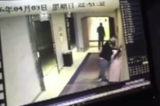 Momentul in care o femeie este batuta de un strain intr-un hotel din Beijing. De ce nu au intervenit martorii. VIDEO
