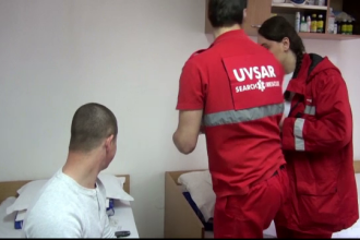 Primul serviciu de voluntariat din Romania care salveaza vieti. Initiativa laudabila a unor studenti din Galati