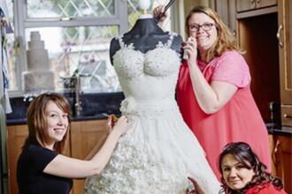 Rochia de mireasa care a fost creata de 3 designeri in 300 de ore, dar nimeni NU o poarta. Care este secretul ei