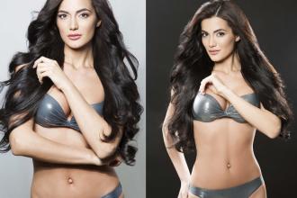 Concurenta Miss Rusia 2016, din partea Daghestanului, criticata dupa ce a aparut pozata in costum de baie