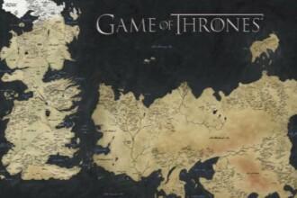 VIDEO Exploreaza taramurile continentului Westeros, din serialul Game of Thrones, intr-un clip interactiv