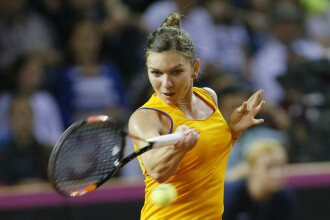 Simona Halep, invinsa de Daria Gavrilova in turul al doilea la Roma. Meciul a fost intrerupt de ploaie