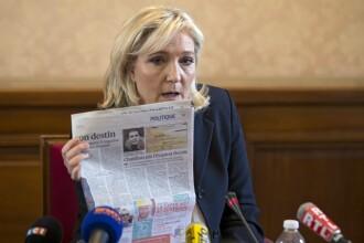 Marine Le Pen, la Sinaia: Nu suntem platiti de rusi. Daca stiti o banca din Romania care ar accepta sa ne finanteze acceptam