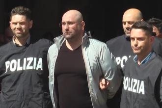 Seful gruparii mafiote Camorra, arestat dupa ce politistii s-au dat drept livratori de pizza. Ce facea barbatul acasa